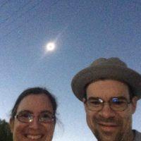 2017 solar eclipse totality selfie - Nick Broman