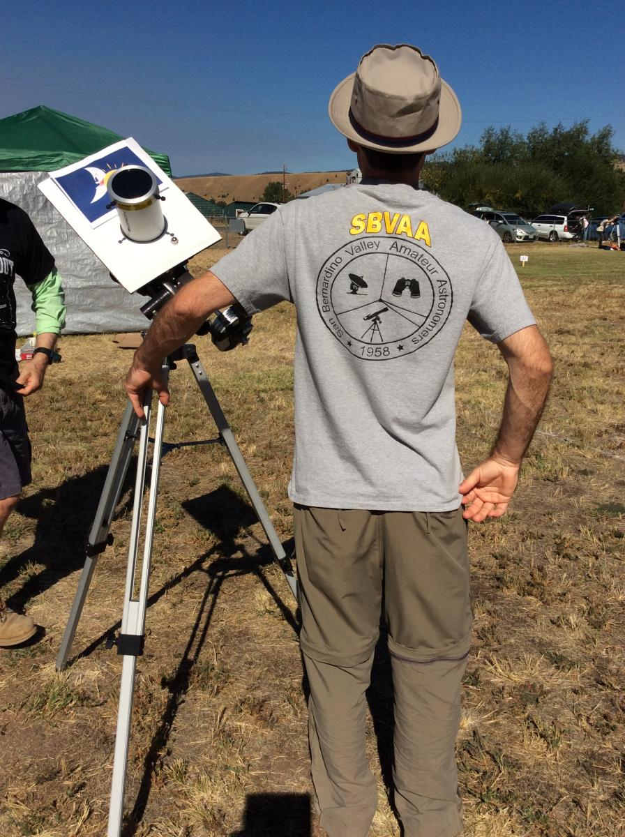 2017 solar eclipse SBVAA t-shirt - Nick Broman