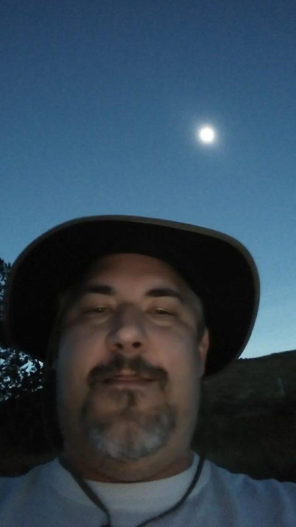 2017 solar eclipse Totality selfie - Gerald Rezes