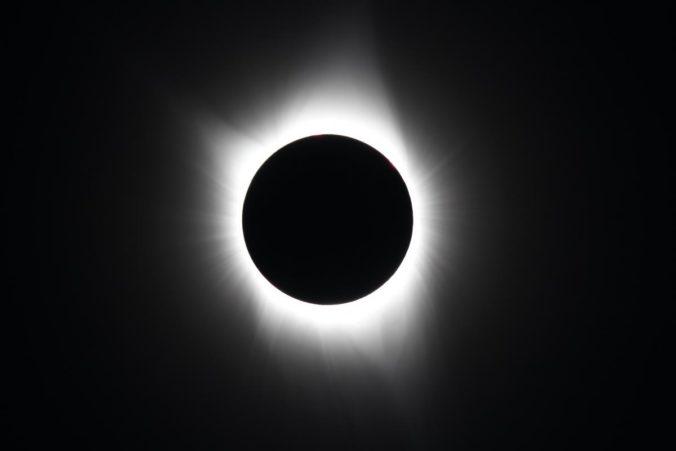2017 total solar eclipse totality - David Morris