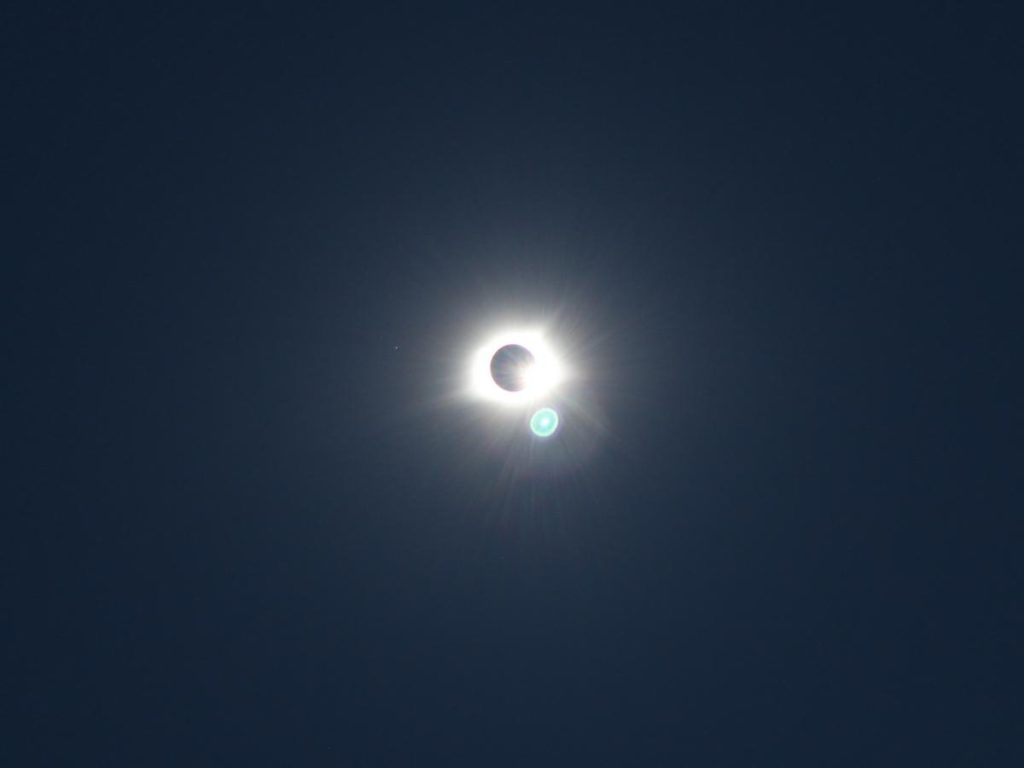 2017 total solar eclipse diamond - Tom Lawson