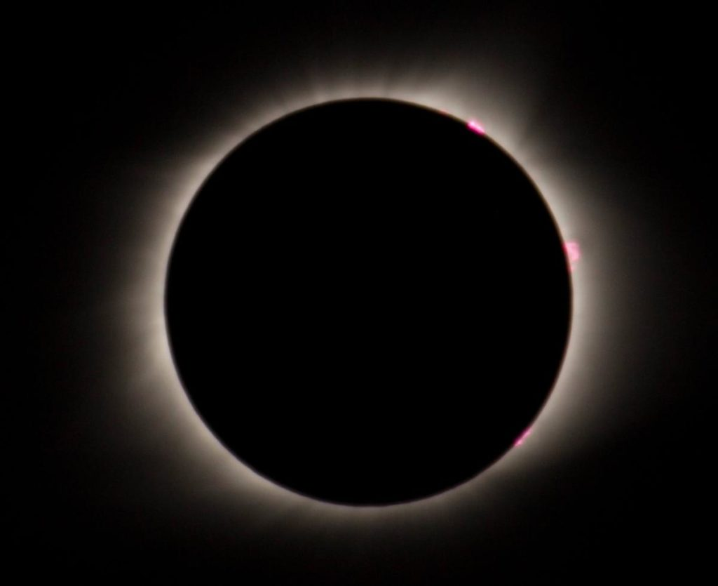 Totality 2017 total solar eclipse - Megan Huynh