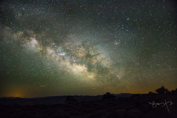 Milky Way from the Grandview Campground