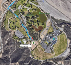 Glen Helen Setup location